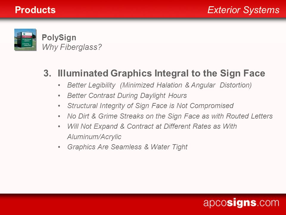 PolySign Why Fiberglass.