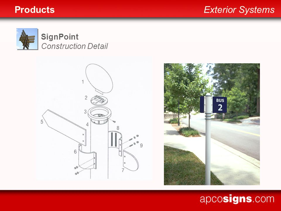 SignPoint Construction Detail ProductsExterior Systems
