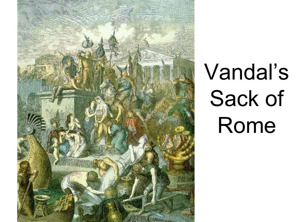 Vandal's Sack of Rome