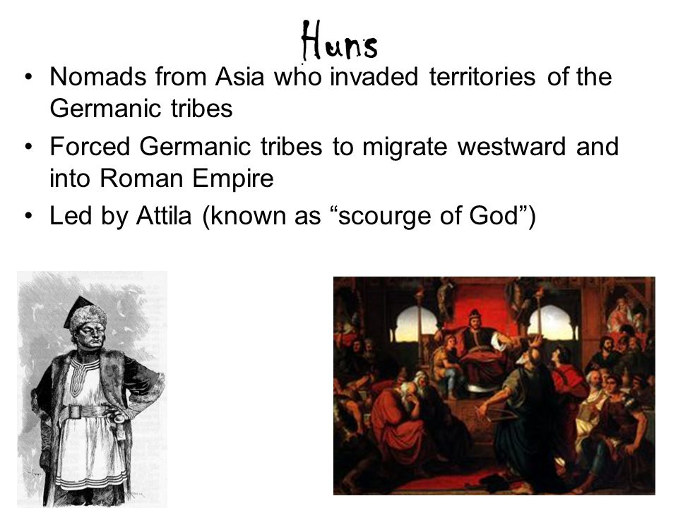 """Vandals cont. 400-533 Plunder rather than rule Destroy Carthage Defeated by Justinian Gelimer – """"All is vanity"""""""