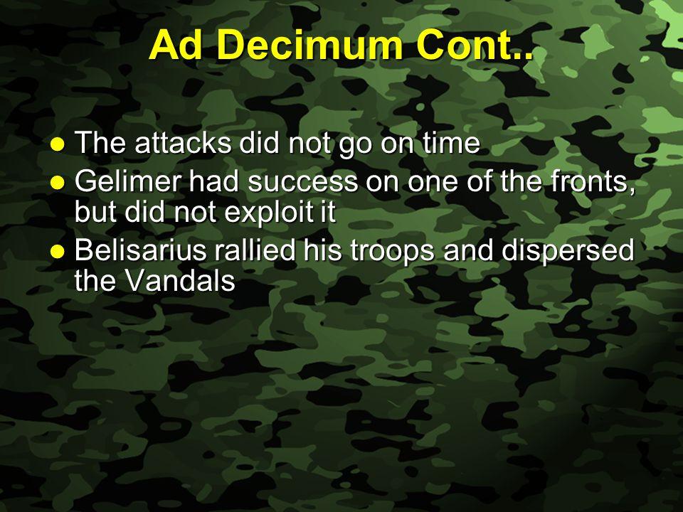 Slide 10 Ad Decimum Cont..