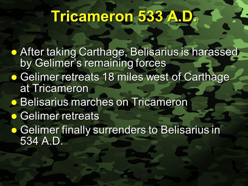Slide 12 Tricameron 533 A.D.