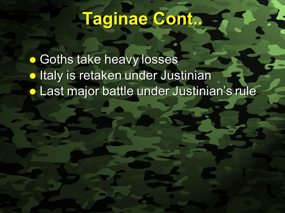 Slide 16 Taginae Cont..