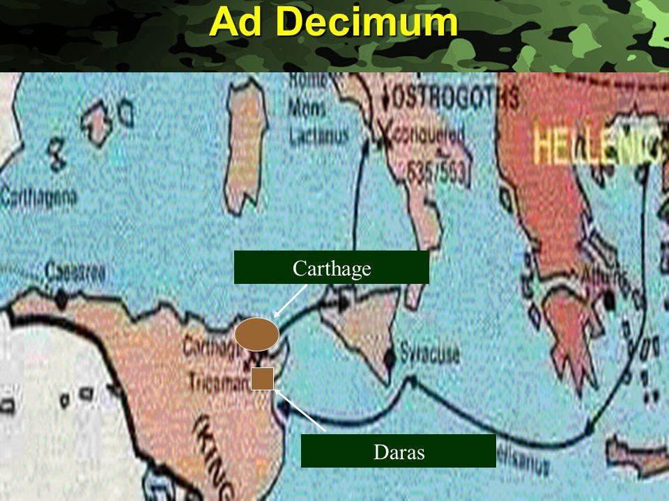 Slide 8 Ad Decimum Carthage Daras