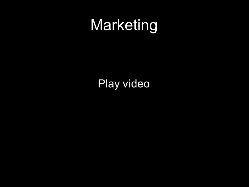 27 21 September 2009 Marketing Play video