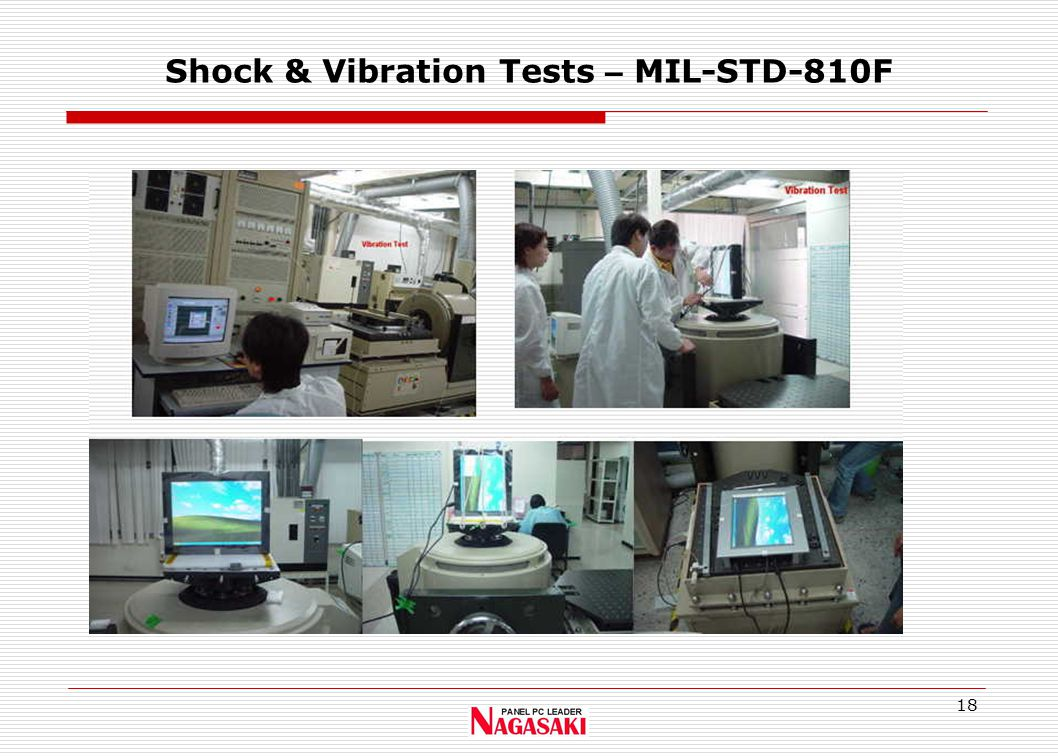 18 Shock & Vibration Tests – MIL-STD-810F