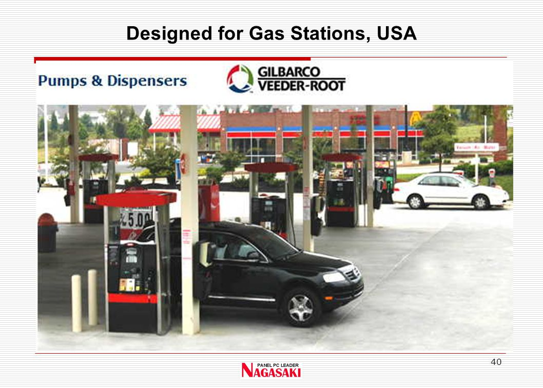 40 Designed for Gas Stations, USA