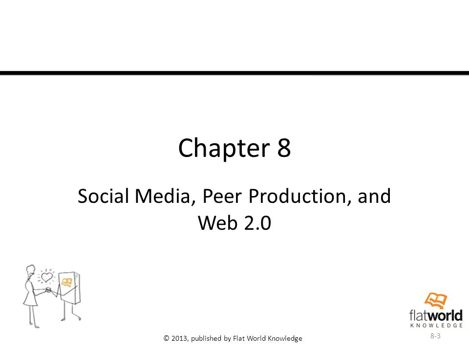 © 2013, published by Flat World Knowledge Chapter 8 Social Media, Peer Production, and Web 2.0 8-3