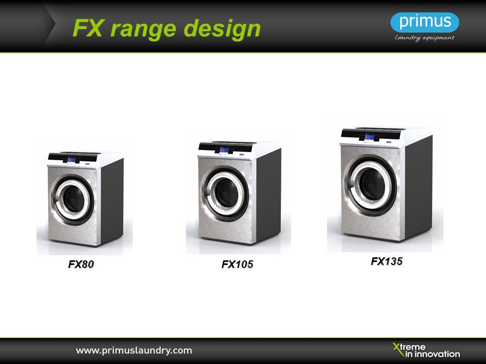 FX range design FX80FX105 FX135