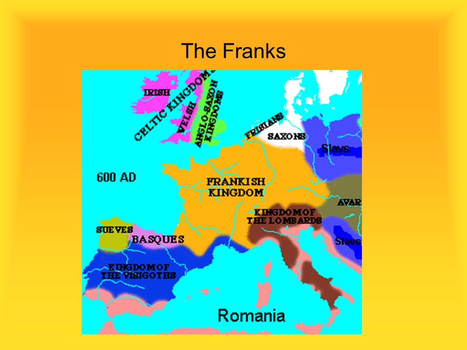 The Merovingian Franks 456 A.D. to 751 A.D. Clovis 456-511A.D. Converts to Catholicism during a battle Supported by Popes to fight Arianism Religious