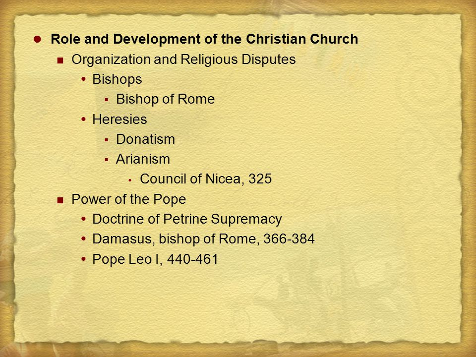 Roles of the Church and State  Bishop Ambrose of Milan, c.