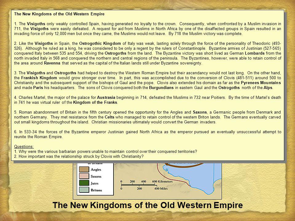  Frankish Kingdom  Clovis (c.