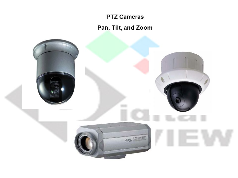 PTZ Cameras Pan, Tilt, and Zoom