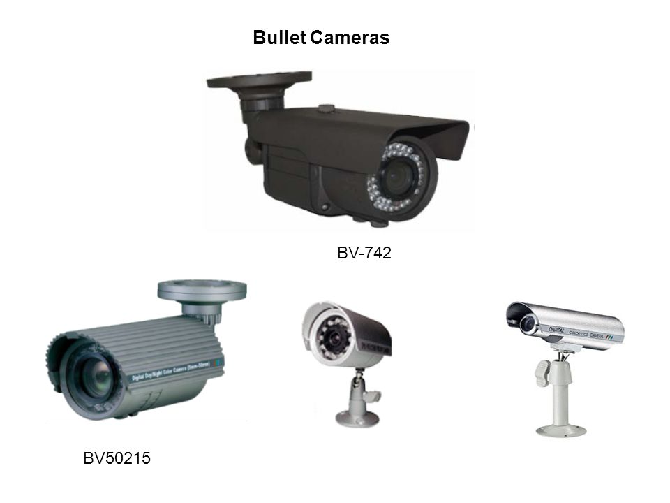 Bullet Cameras BV50215 BV-742