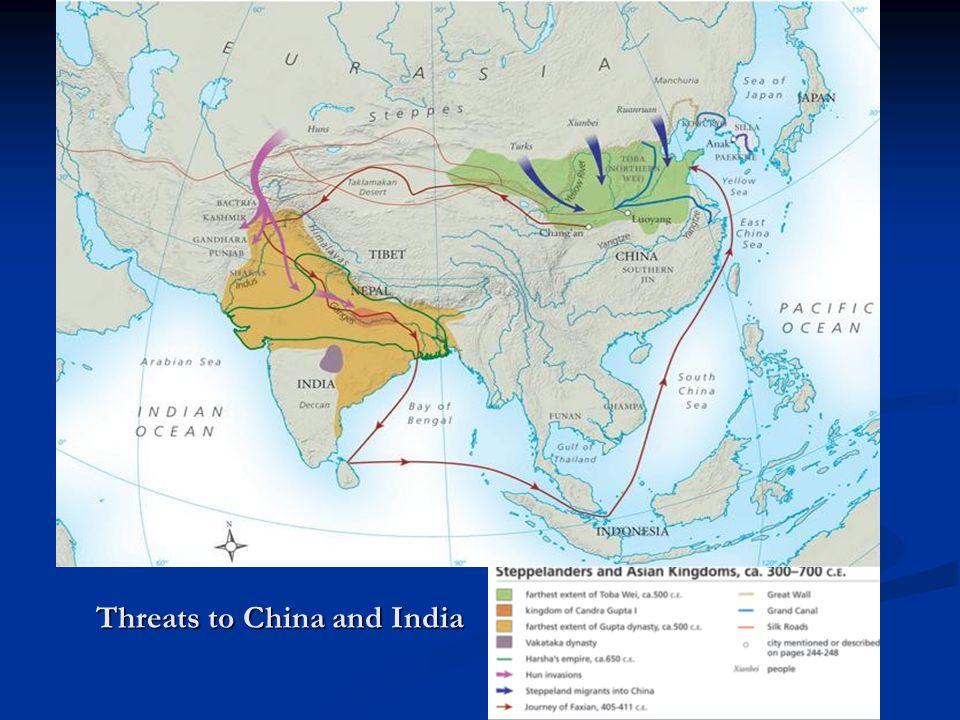 Threats to China and India