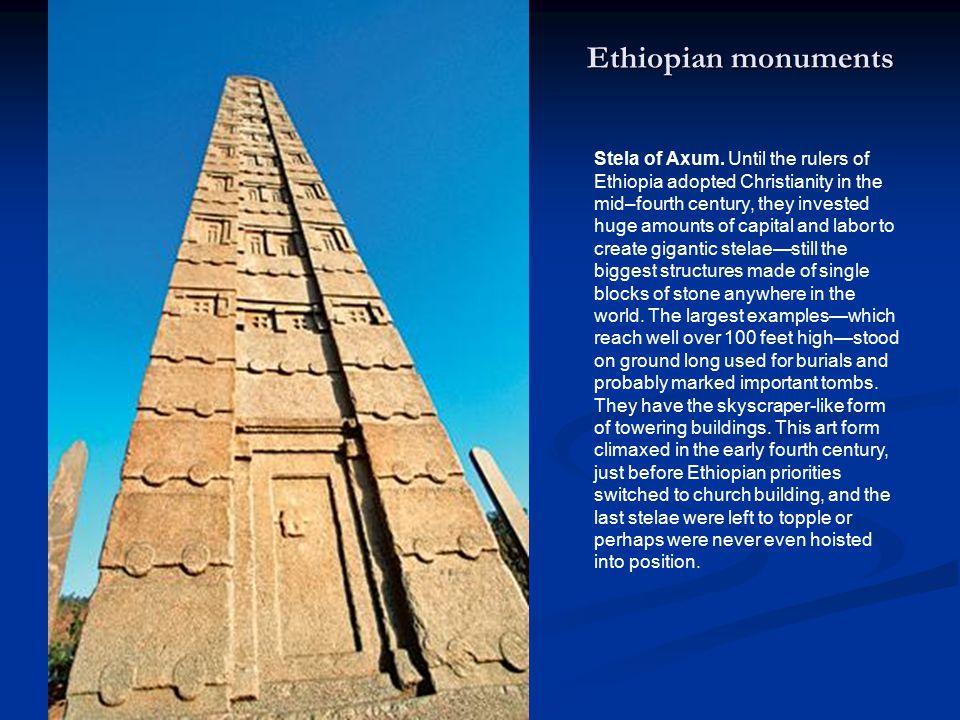 Stela of Axum.