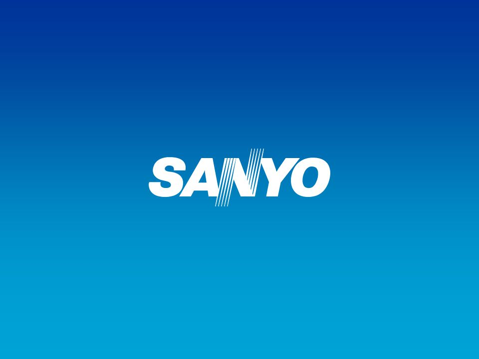 Copyright© SANYO Electric Co., Ltd. All Rights Reserved 2009 28