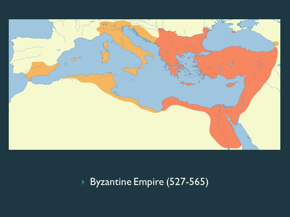 Byzantine Empire (527-565)
