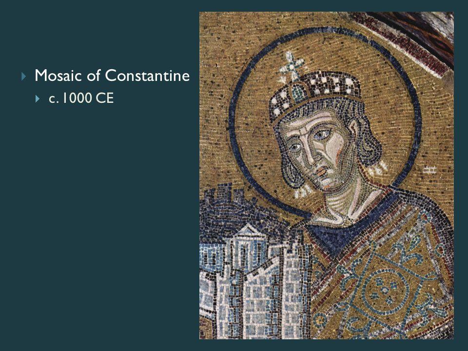  Mosaic of Constantine  c. 1000 CE