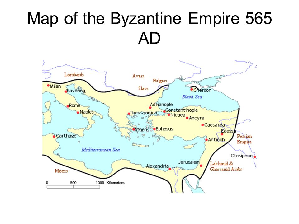 This map depicts the Empire at the close of the reign of John II Komnenos, son of Alexios.