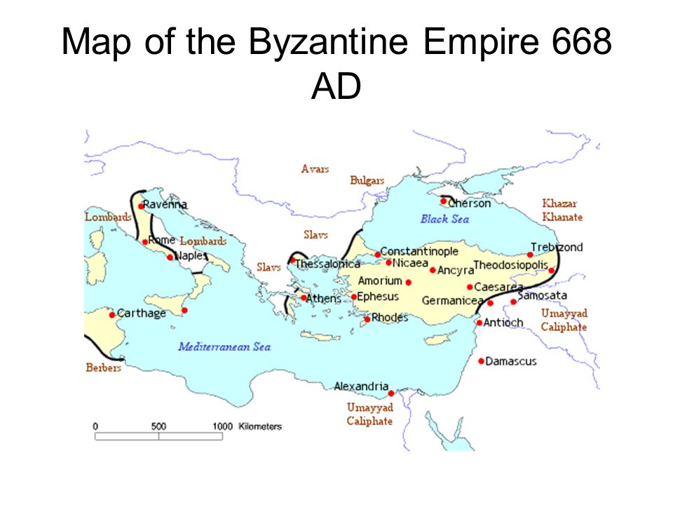 The previous century has been traumatic for the Byzantium.
