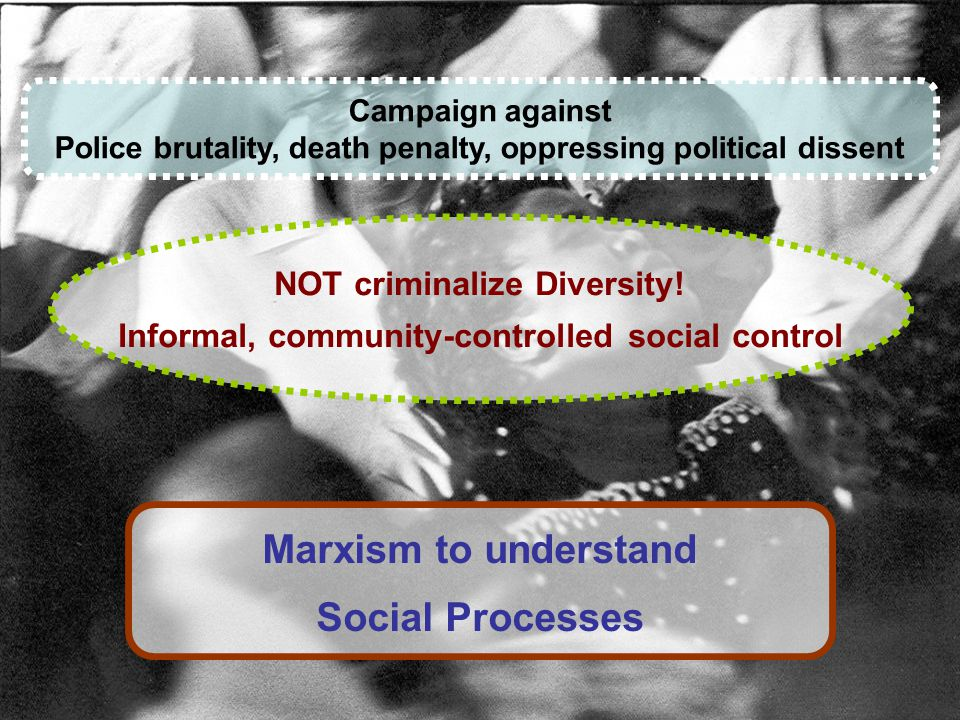 Campaign against Police brutality, death penalty, oppressing political dissent NOT criminalize Diversity.