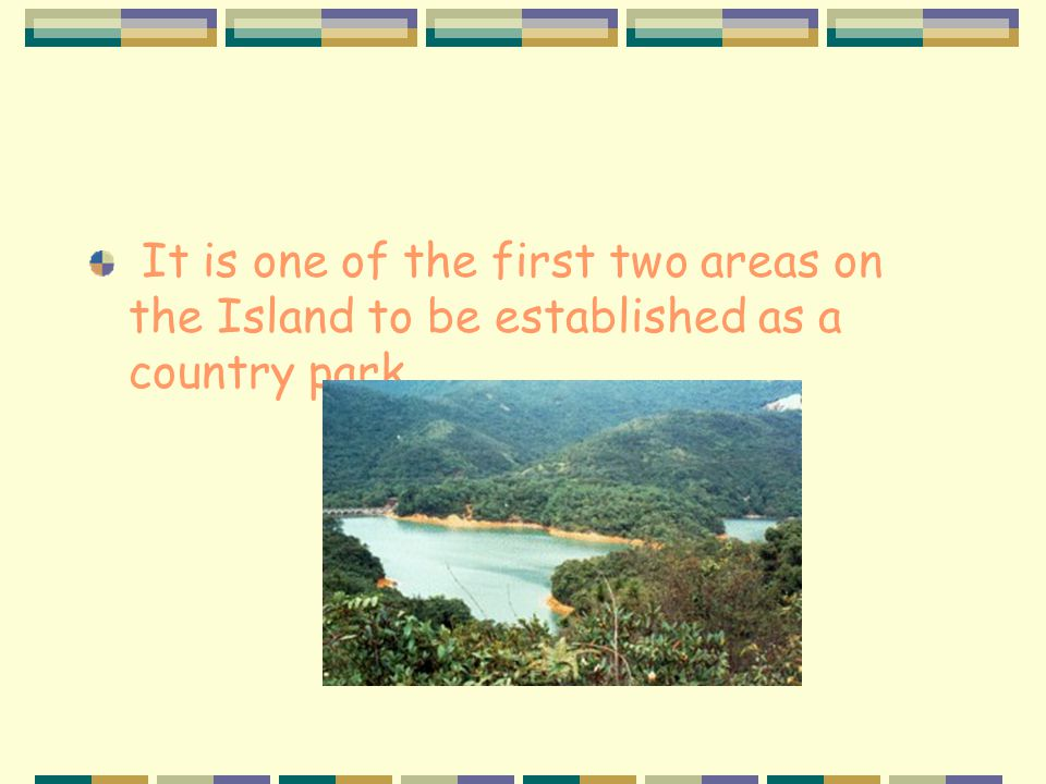 Aberdeen Country Park It lies on the southern slopes of Hong Kong Island. The area serves as a