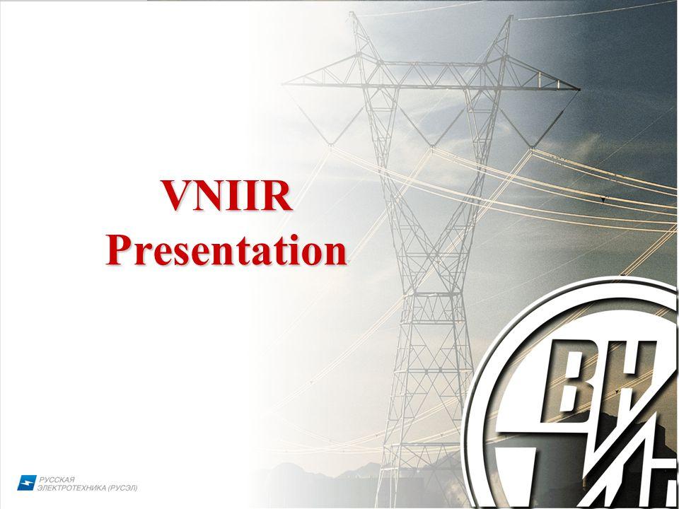 1 VNIIR Presentation