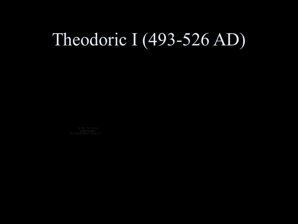 Theodoric I (493-526 AD)
