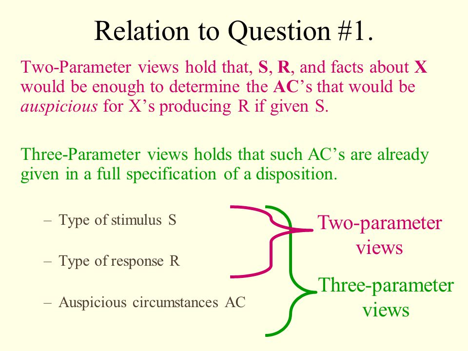 Relation to Question #1.