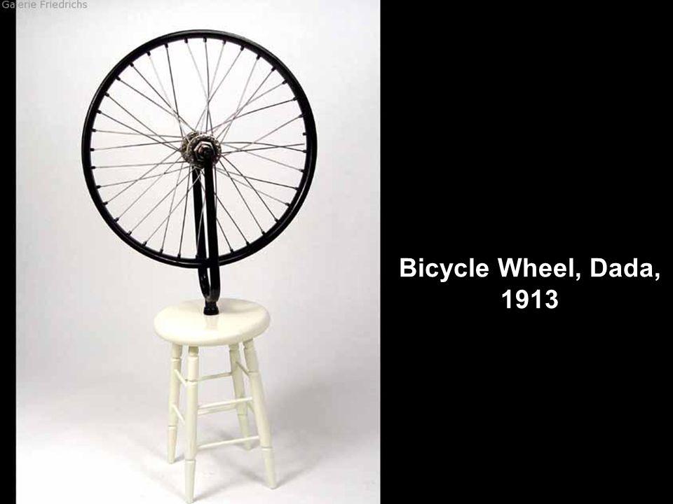 Bicycle Wheel, Dada, 1913