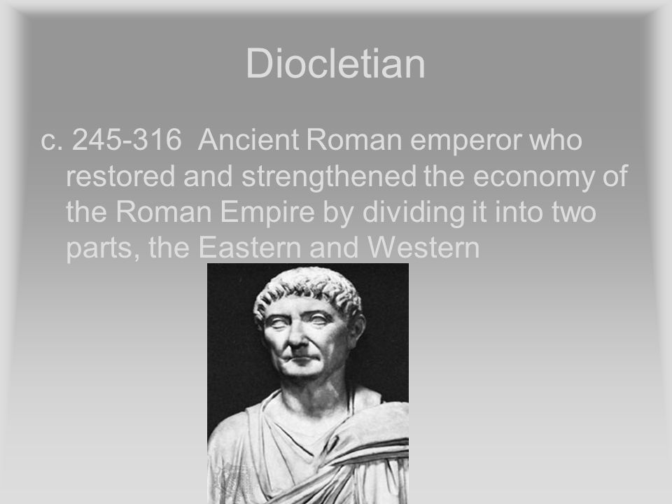 Diocletian c.