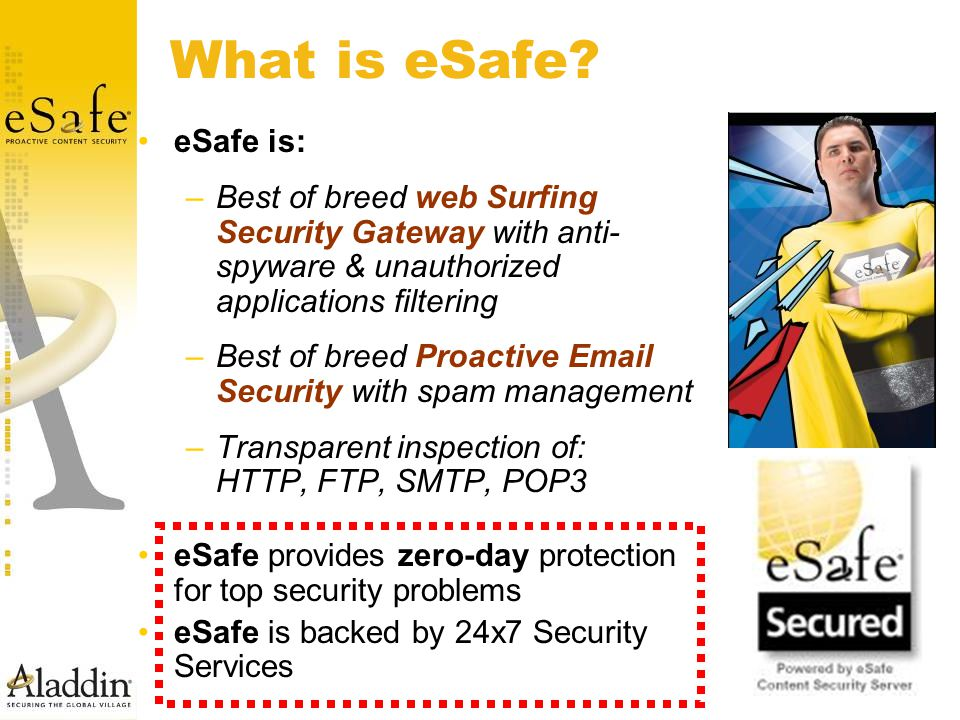 What is eSafe.