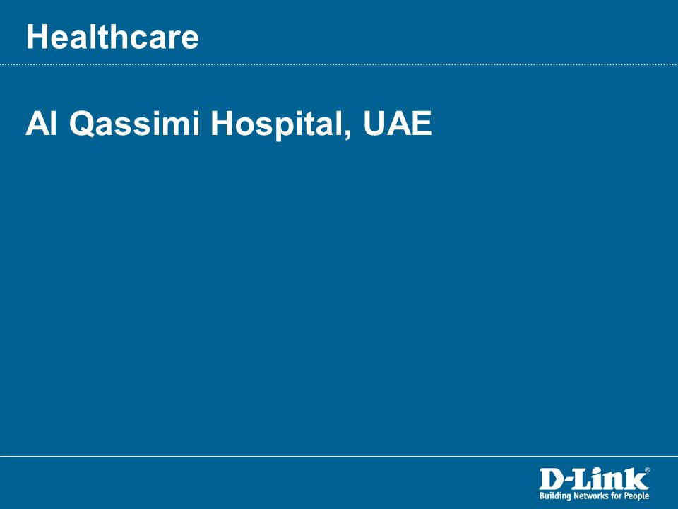 Al Qassimi Hospital, UAE Healthcare