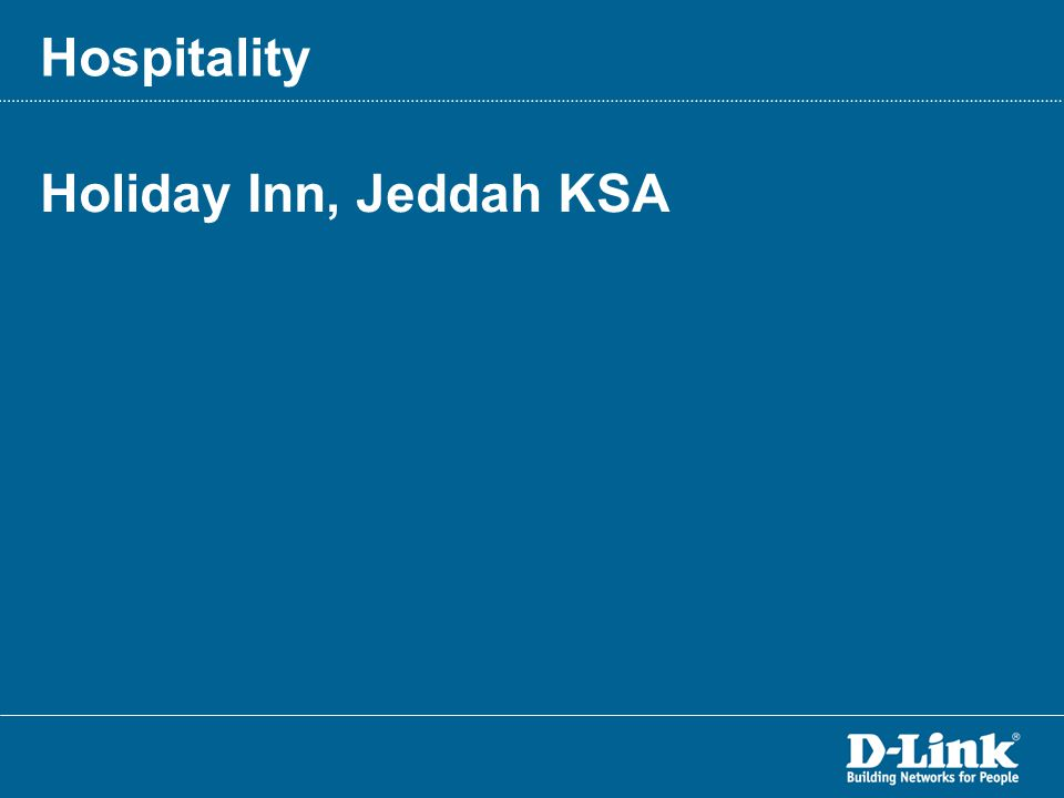 Holiday Inn, Jeddah KSA Hospitality
