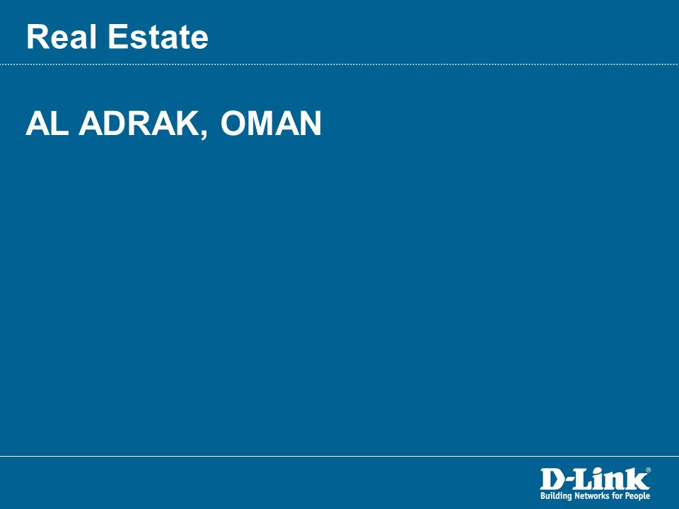 AL ADRAK, OMAN Real Estate