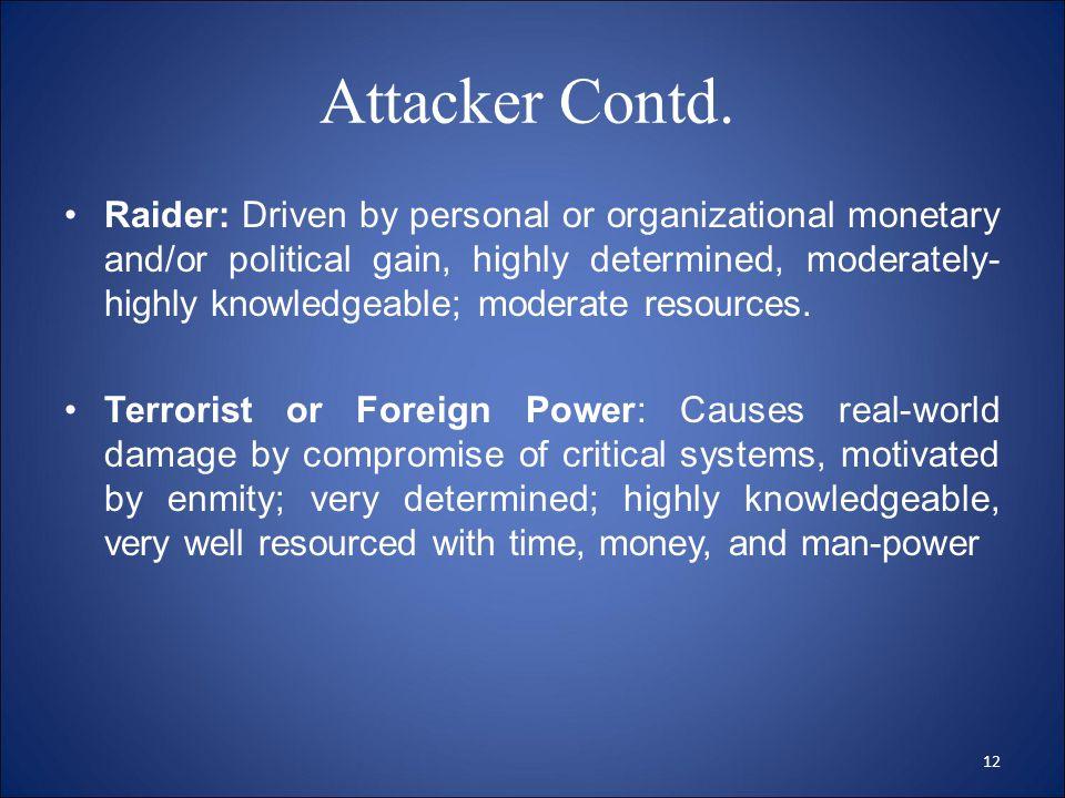 Attacker Contd.