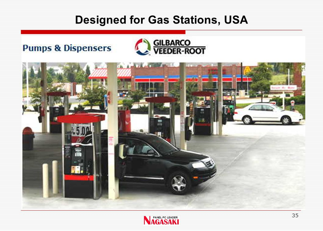 35 Designed for Gas Stations, USA