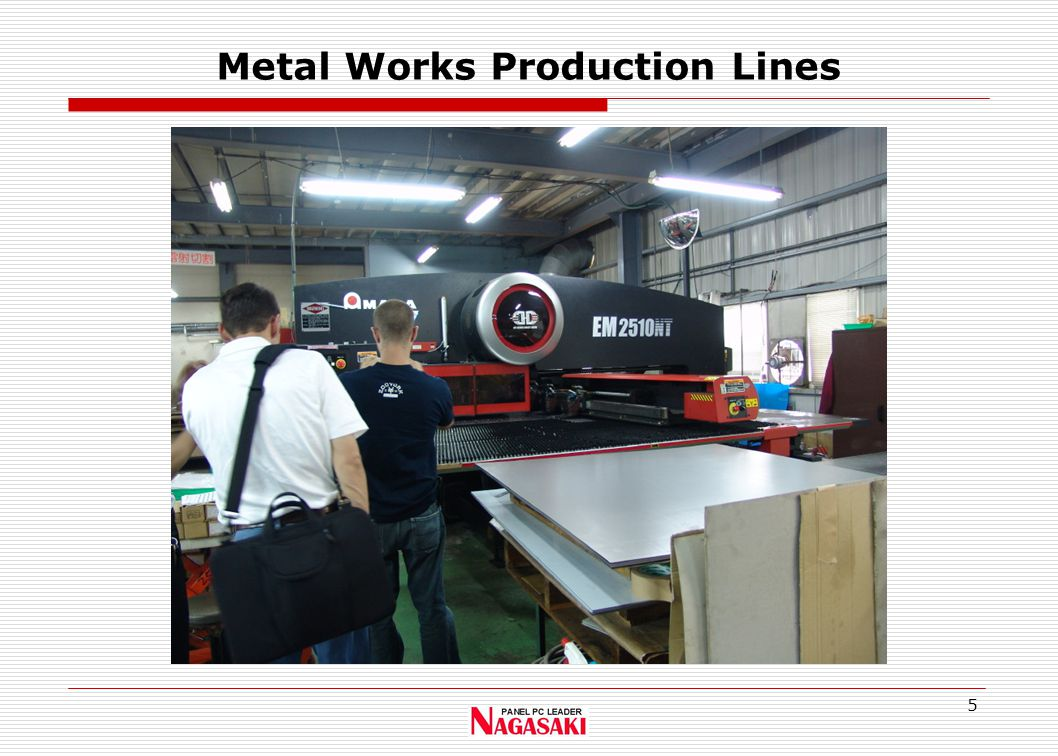 5 Metal Works Production Lines