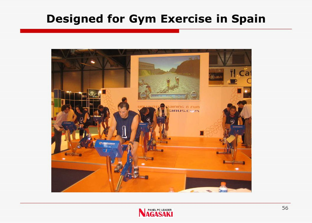 56 Designed for Gym Exercise in Spain