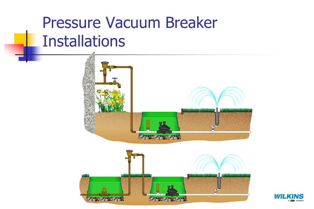 Pressure Vacuum Breaker Installations