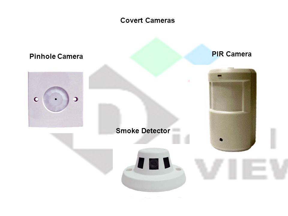 Pinhole Camera PIR Camera Covert Cameras Smoke Detector