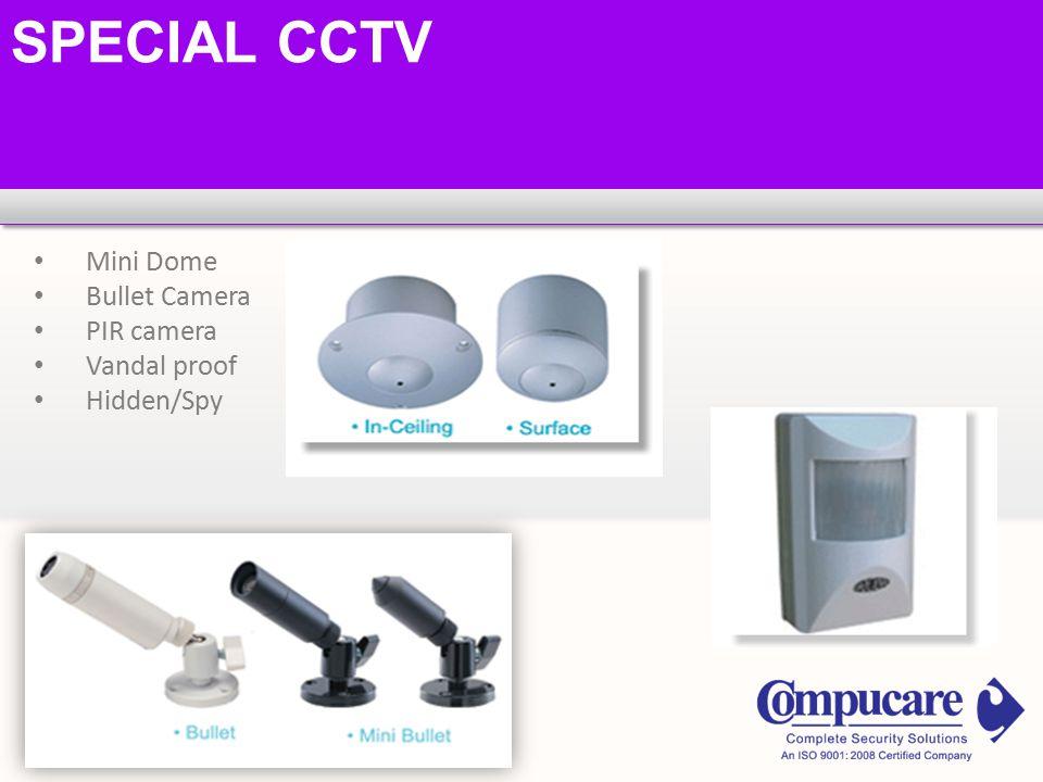 SPECIAL CCTV Mini Dome Bullet Camera PIR camera Vandal proof Hidden/Spy