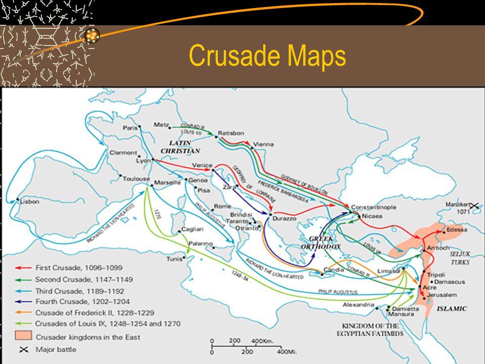 Crusade Maps