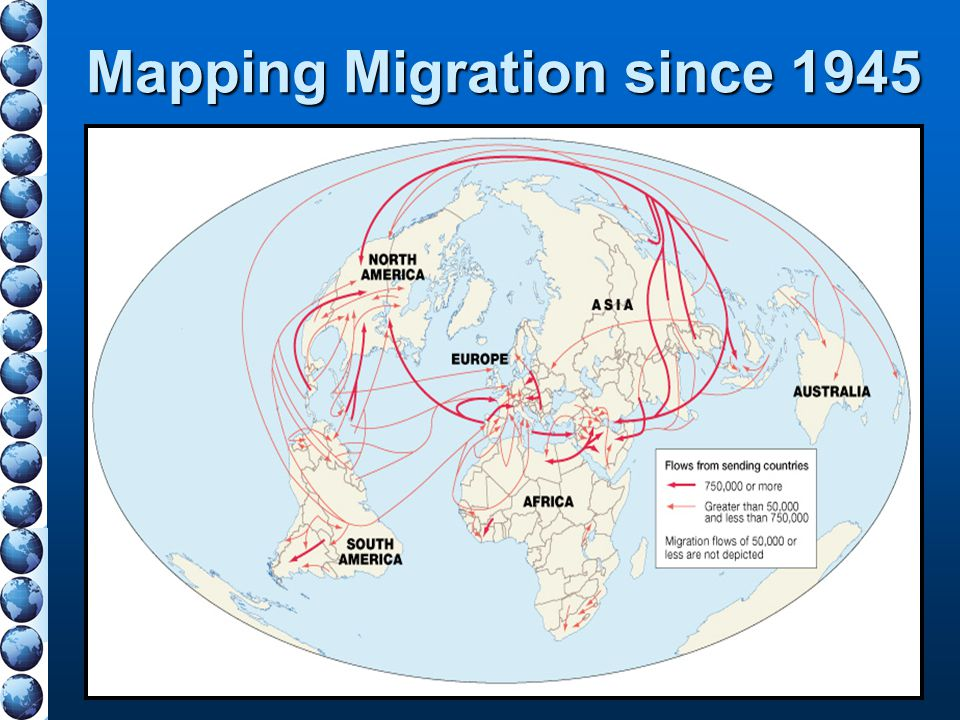 Mapping Migration since 1945