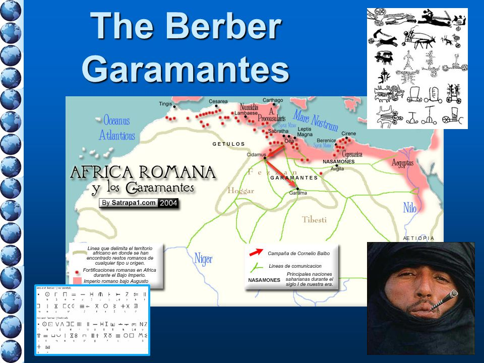 The Berber Garamantes