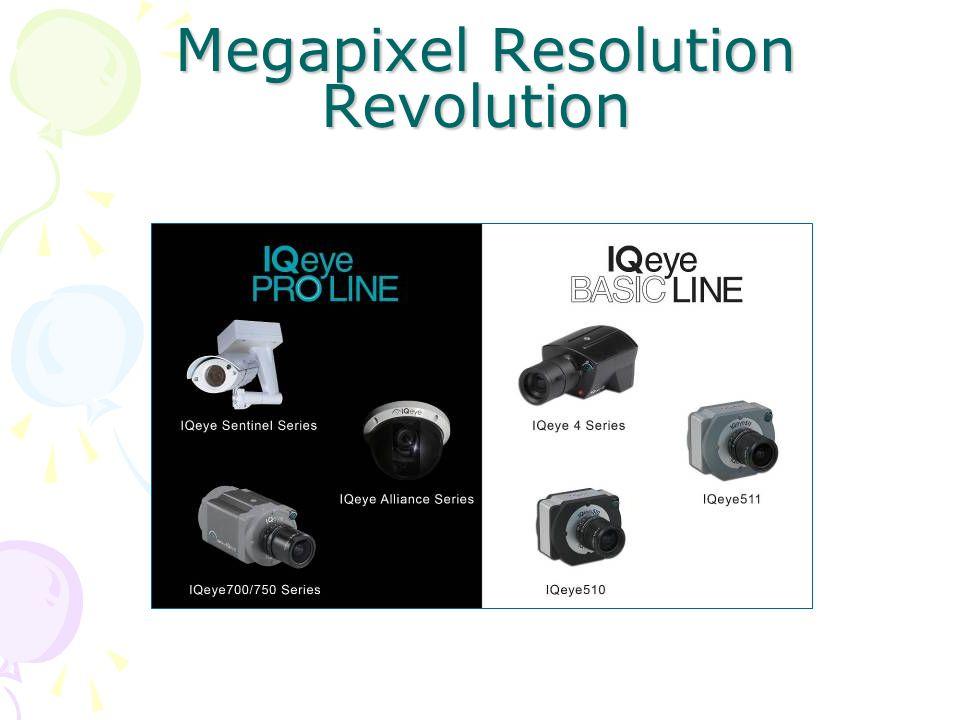Megapixel Resolution Revolution Megapixel Resolution Revolution