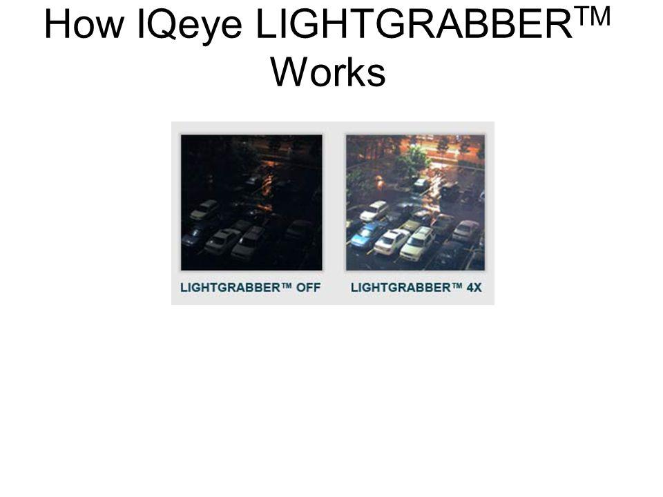 How IQeye LIGHTGRABBER TM Works