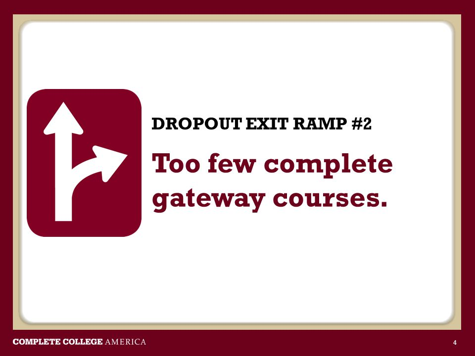 Most remedial students don't make it through college-level gateway courses.