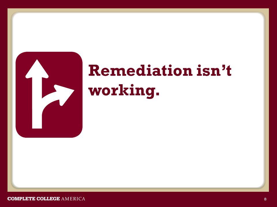 Remediation isn't working. 8
